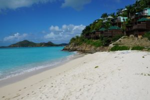 Long Bay Beach auf Antigua und Barbuda