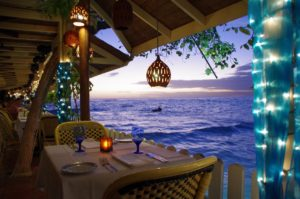 Pisces Restaurant am St. Lawrence Gap, Barbados